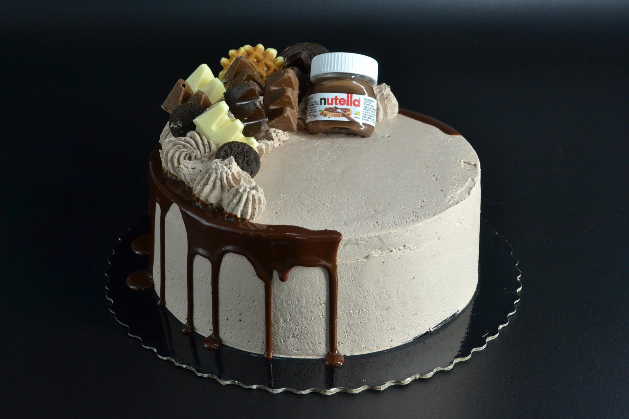 Tarta Nutella